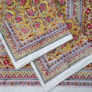 handmade bed sheet designs
