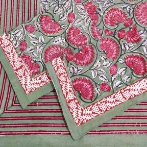 block print double bedsheet set