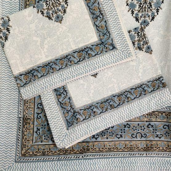 handmade cotton bed sheet