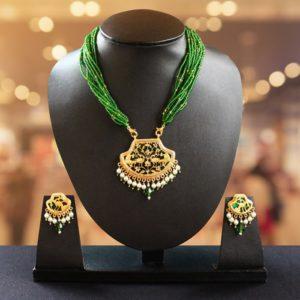Green 23kt Gold Jewellery 1