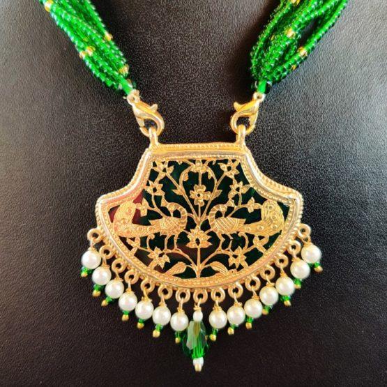 Green 23kt Gold Jewellery 3