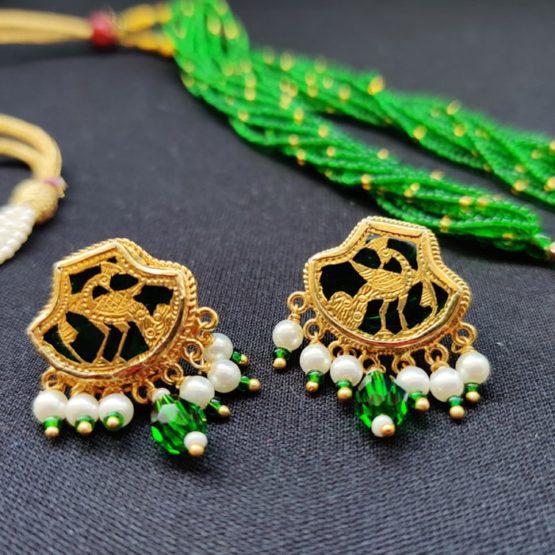 Green 23kt Gold Jewellery 4