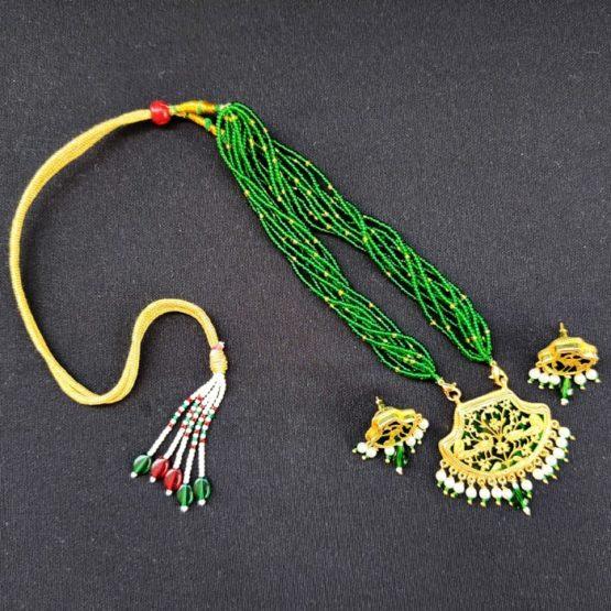 Green 23kt Gold Jewellery 6