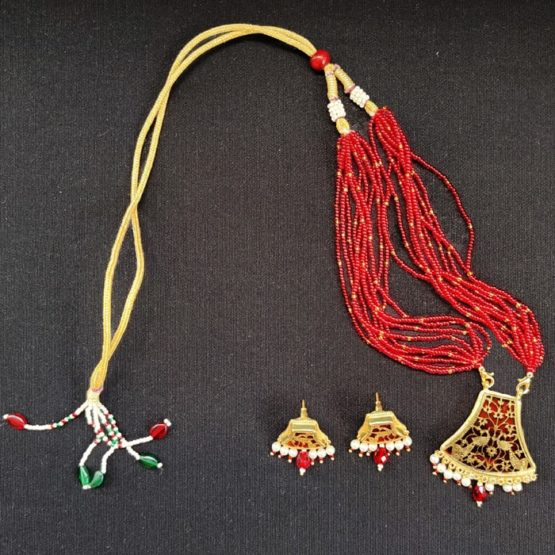 Red Flower Gold Jewellery 5