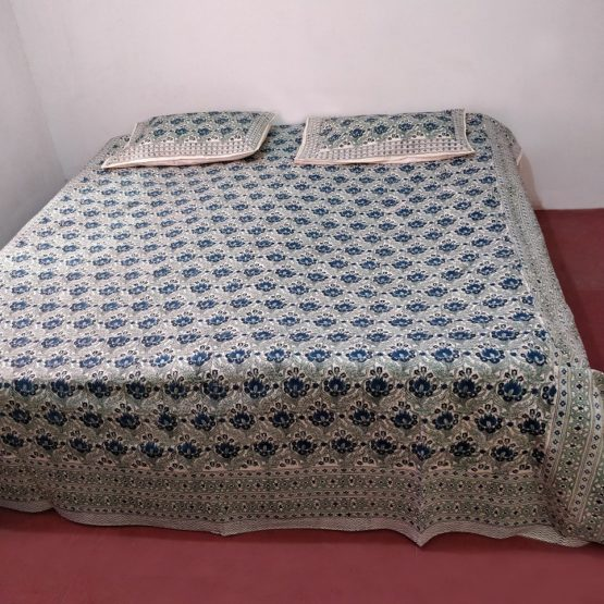 patterned double bed sheets