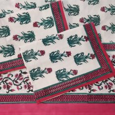 Sanganeri Block Print Bed Sheet