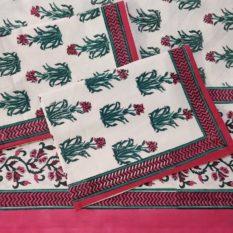 Sanganeri Block Print Bed Sheet