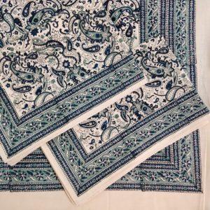 block print bedsheet set