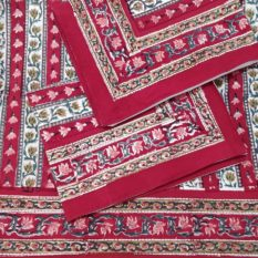 sanganeri hand block print bed sheet