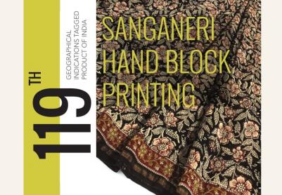 Sanganeri Handblock Print