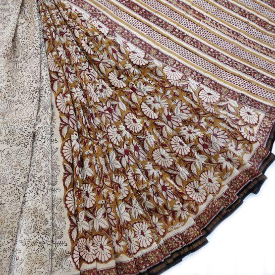 Sanganer Chanderi cotton
