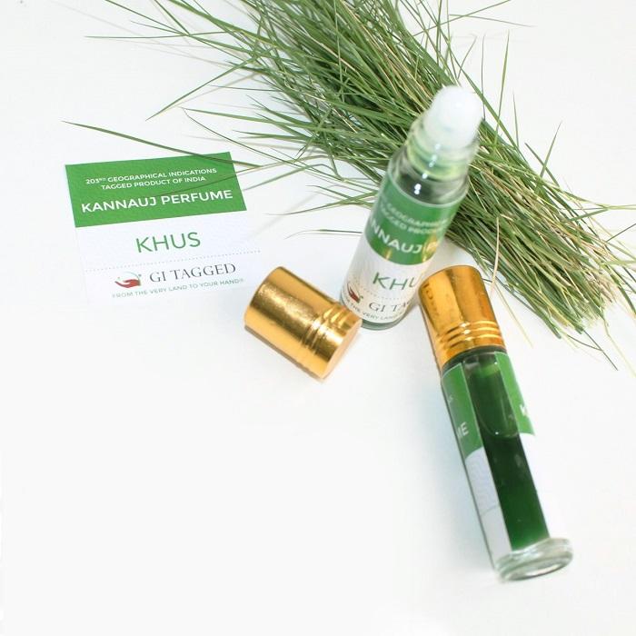 Grass Kannuaj Perfume - GI TAG INDIA