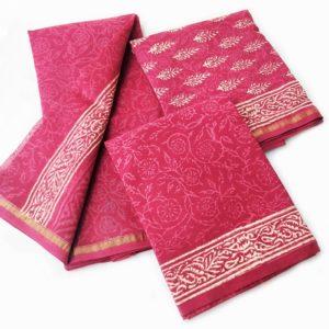 Chanderi salwar design