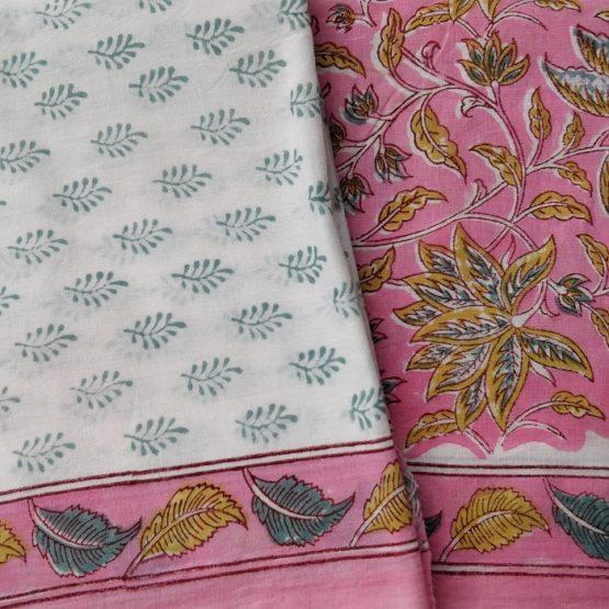 Sanganer cotton salwar kameez