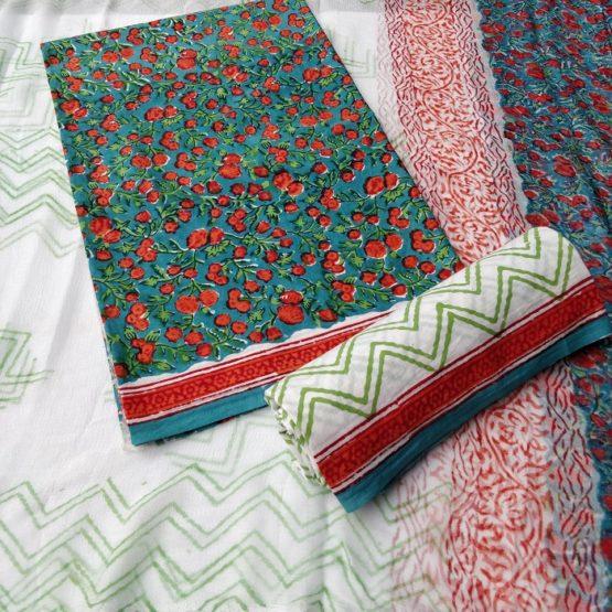 sanganer cotton salwar kameez patterns