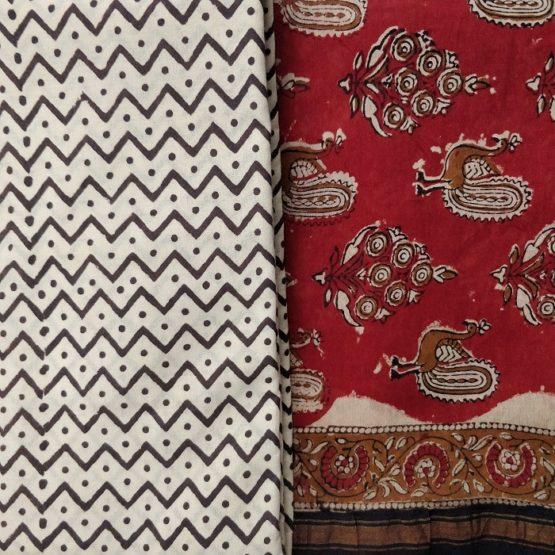 Chanderi salwar patterns
