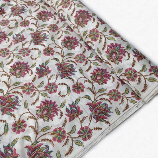 Jaipur hand block print fabric