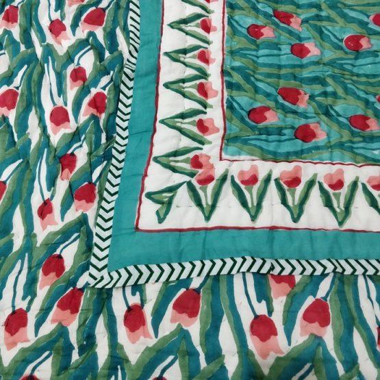 jaipuri print quilt