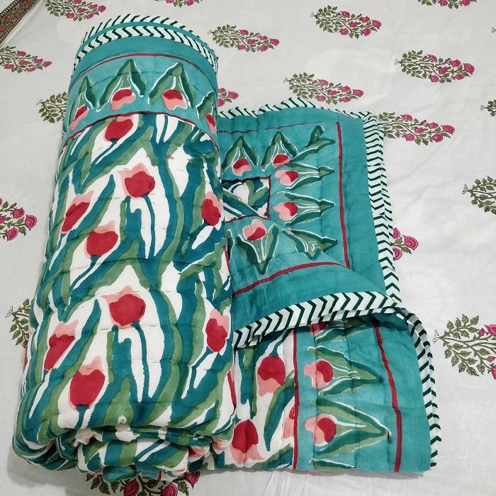 jaipur print quilt