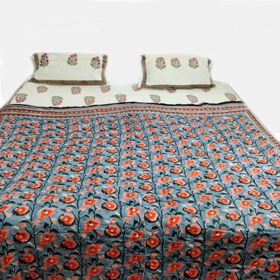 Jaipur quilt blanket