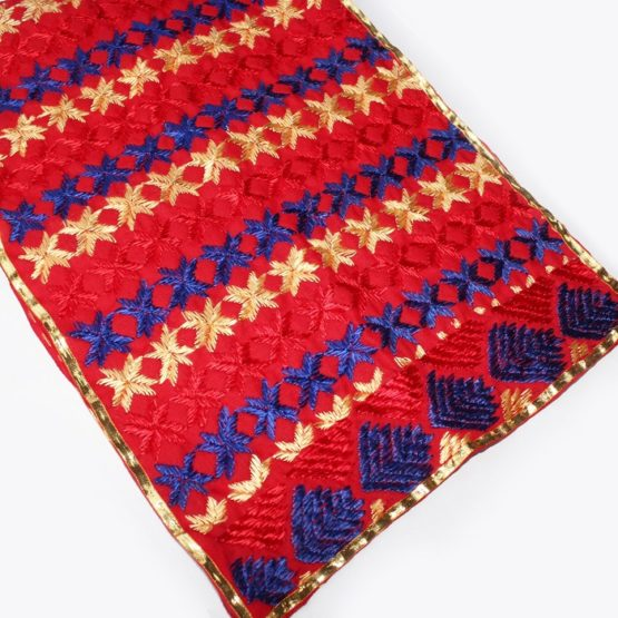 embroidery kids dupatta