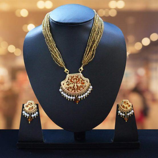 23kt Gold jewellery Set - GiTAGGED 1