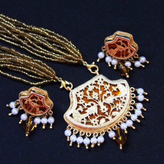 23kt Gold jewellery Set - GiTAGGED 5