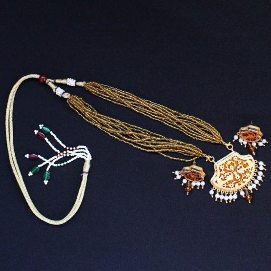 23kt Gold jewellery Set - GiTAGGED 6