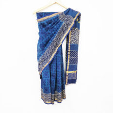 Latest Hand Block Print Saree