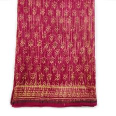 Latest Bagru Print Saree