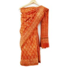 Beautiful Bagru Print Saree