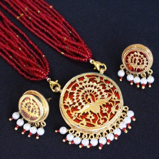 Gold Jewellery Set Online 4