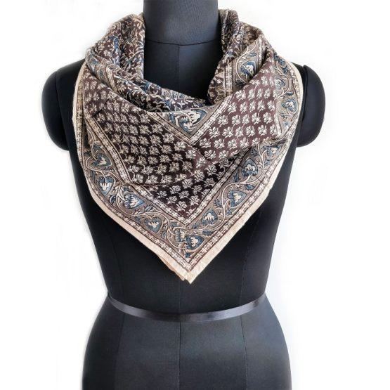 latest kalamkari scarf