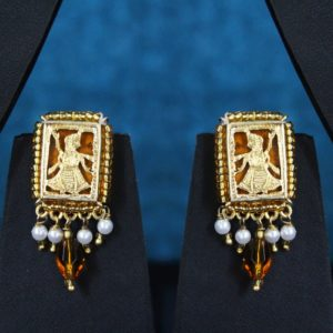 Orange Traditional Gold Jewellery 2