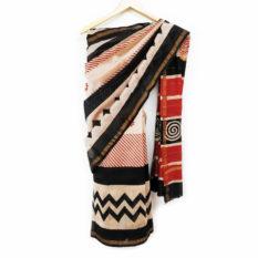 hand block print saree collection