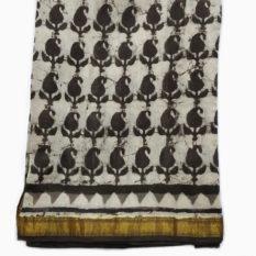 bagru maheshwari border sarees