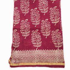 bagru hand print saree