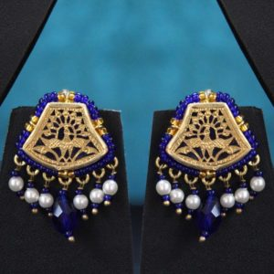 Blue Traditional Gold Jewellery 2