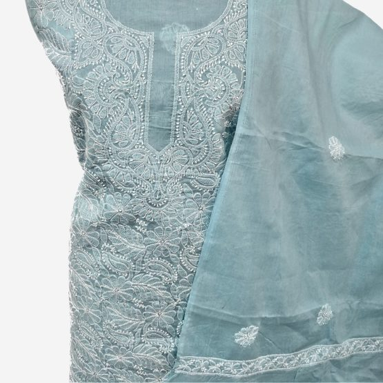 lucknow chikankari salwar suit