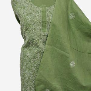 chikankari embroidery cotton salwar suit