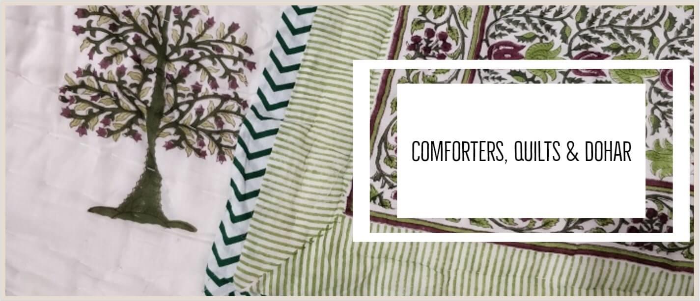 Comforters, Quilts & Dohar