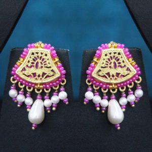Pink Gold jewellery Set Online 2