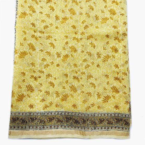 Sanganer Chanderi cotton Saree