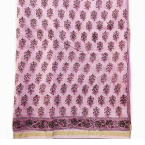 sanganer cotton silk saree