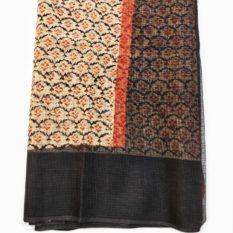 sanganer hand block cotton saree