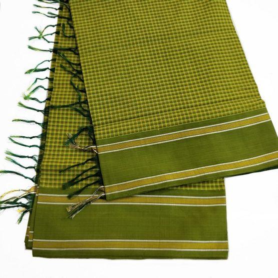 combed cotton saree