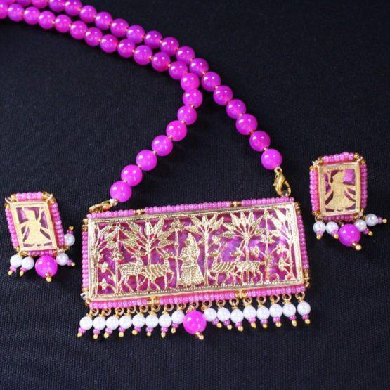 traditional thewa gold jewellery 5