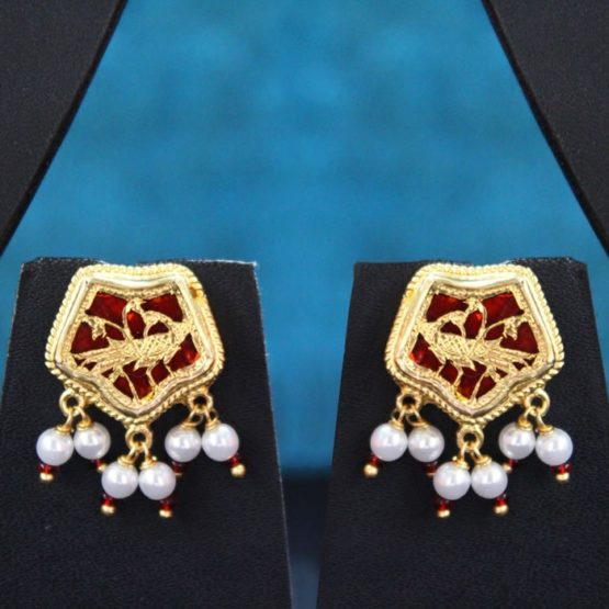 traditional thewa gold jewellery set online 2