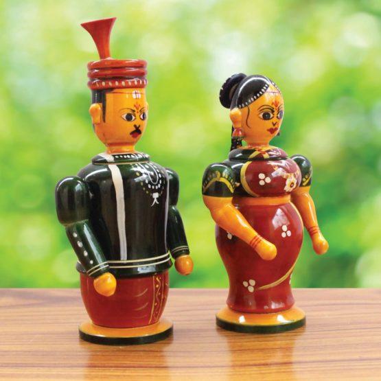 Etikoppaka Couple Toy Online (2)