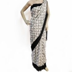 pure cotton ikat sarees